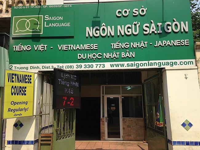 Saigon Language School là Top 10 trung tâm Nhật Ngữ uy tín nhất TPHCM